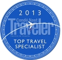 Top Travel Specialist 2013 Logo
